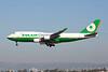 B-16402. Boeing 747-45E(BDSF). Eva Air Cargo. Los Angeles. 210915.