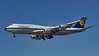 D-ABYT. Boeing 747-830. Lufthansa. Los Angeles. 150916.