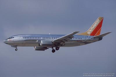N629SW. Boeing 737-3H4. Southwest. Los Angeles. September. 1997.