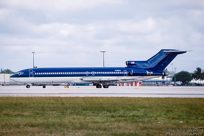 N266US. Boeing 727-251. Falcon Air Express. Miami. December. 2000.
