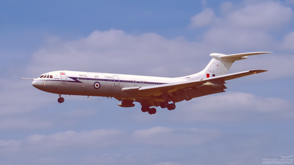 XV103. Vickers VC10 C1. RAF. Brize Norton. May. 1995.