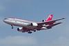 N152US. McDonnell Douglas DC-10-40. Northwest. Los Angeles. September. 1997.