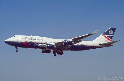 G-BNLL. Boeing 747-436. British Airways. Los Angeles. September. 1997.