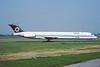 EC-EZU. McDonnell Douglas MD-83. Oasis. Glasgow. August. 1991.