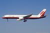 N704X. Boeing 757-2Q8. Trans World. Los Angeles. September. 1997.