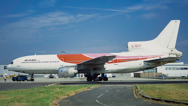 TF-ABM. Lockheed L-1011-385-1 TriStar 50. Air Atlanta. Glasgow. August. 1996.