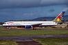G-BIKC. Boeing 757-236. British Airways. Glasgow. October. 1998.