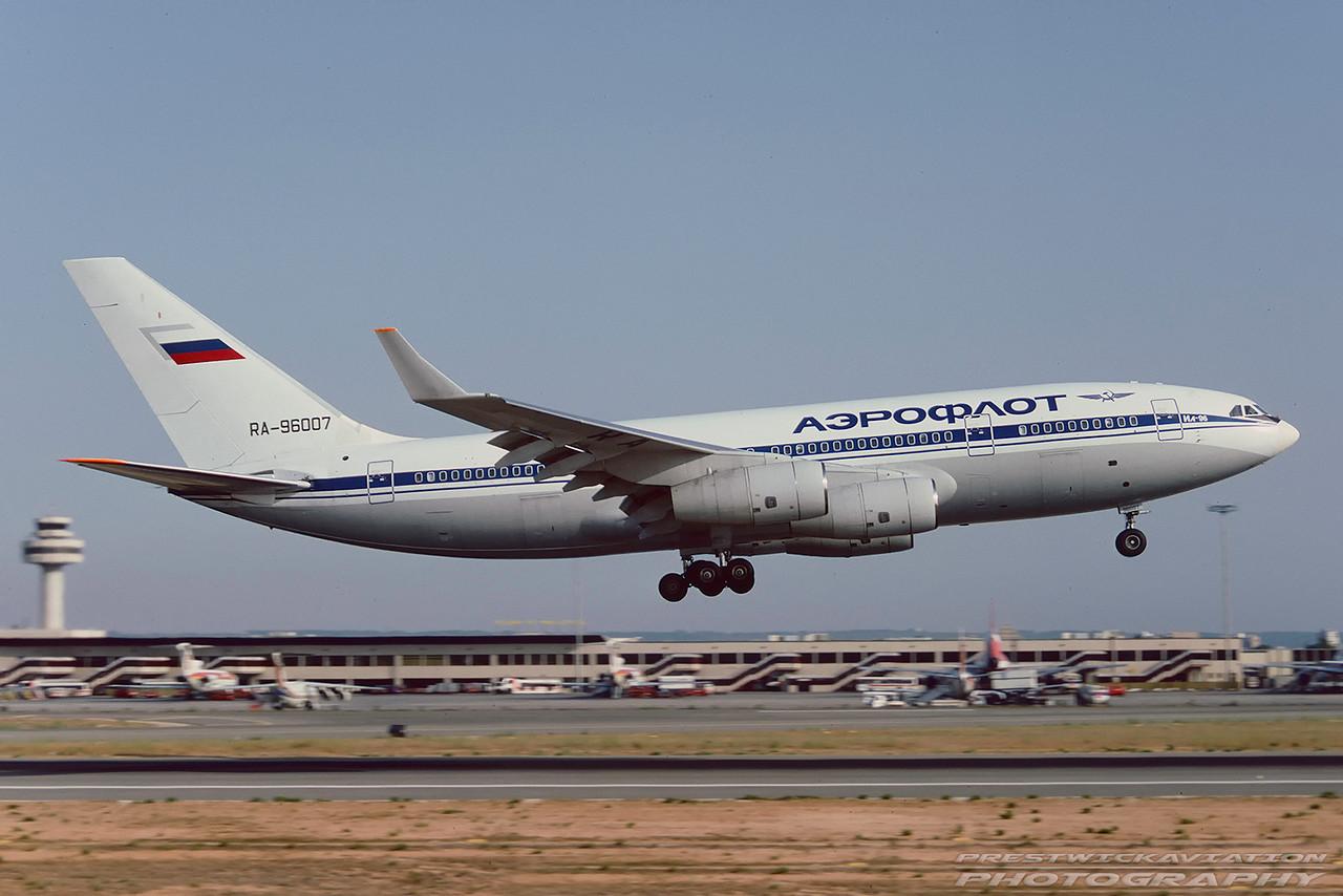 RA-96007. Ilyushin Il-96-300. Aeroflot. Palma. August. 1993.