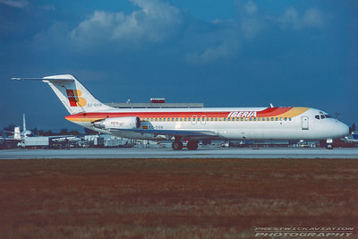 EC-DGB. McDonnell Douglas DC-9-34. Iberia. Miami. February. 1996.