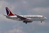 N206AU. Boeing 737-201. Carnival Air Lines. Orlando. June. 1993.