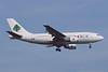 3B-STJ. Airbus A310-222. MEA. Heathrow. April. 1999.