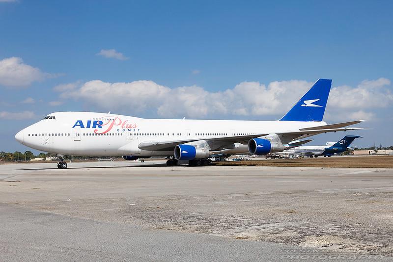 J2-KCV.  Boeing 747-212B. Air Plus Comet. Opa Locka. 160209.
