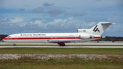 N553NA.  Boeing 727-2J7/Adv. Laker Airways. Fort Lauderdale. October. 1996.