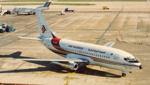 7T-VEZ. Boeing 737-2T4. Air Algeria. Heathrow. February. 1985.