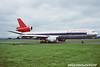 N155US. McDonnell Douglas DC-10-40. Northwest Airlines. Glasgow. August. 1991.