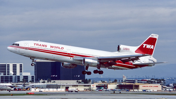 N41016. Lockheed L-1011-385-1 TriStar 1. Trans World Airlines. Los Angeles. February. 1996.