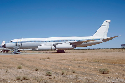 N810NA. Convair 990A. (NASA). Mojave. September. 1997.