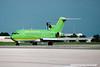 N275WC. Boeing 727-277/Adv. Braniff International. Orlando. June. 1992.