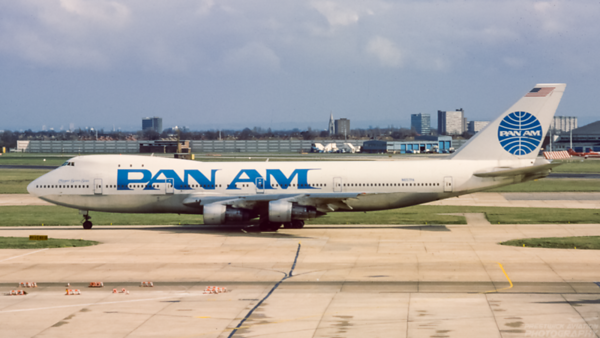 N657PA. Boeing 747-121. Pan Am. Heathrow. 1980`s.
