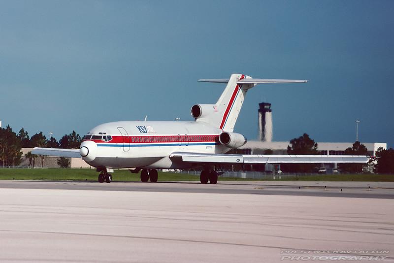 N727ZV. Boeing 727-95. Key Air. Orlando. June. 1992.