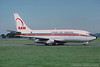 CN-RMM. Boeing 737-2B6C/Adv. Royal Air Moroc. Glasgow. August 1992.