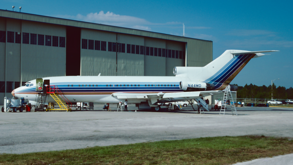 N44MD. Boeing 727-44. Private. Orlando. June. 1993.