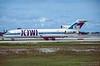 N356PA. Boeing 727-225/Adv. Kiwi International. Fort Lauderdale. October. 1996.
