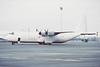 F-GDAQ. Lockheed L-100-30 Hercules. Jet Fret. Glasgow. February 1989.