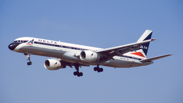 N667DN. Boeing 757-232. Delta. Los Angeles. September. 1997.