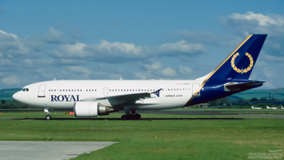 C-GRYV. Airbus A310-304. Royal Airlines. Glasgow. June. 1997.