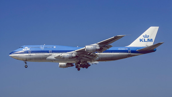PH-BUU. Boeing 747-306M. KLM. Los Angeles. September. 1997.