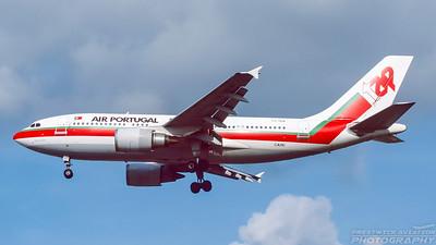CS-TEW. Airbus A310-204. TAP. Heathrow. October. 1998.