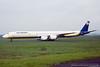 SE-DLH. Douglas DC-8-71. Air Sweden. Glasgow. August. 1992.