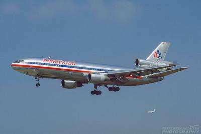 N129AA. McDonnell Douglas DC-10-10. American. Los Angeles. September. 1997.