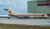 N10789. Boeing 727-232/Adv. Continental Airlines. Orlando. June. 1993.