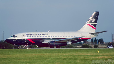 G-BGJH. Boeing 737-236/Adv. British Airways. Glasgow. August. 1997.
