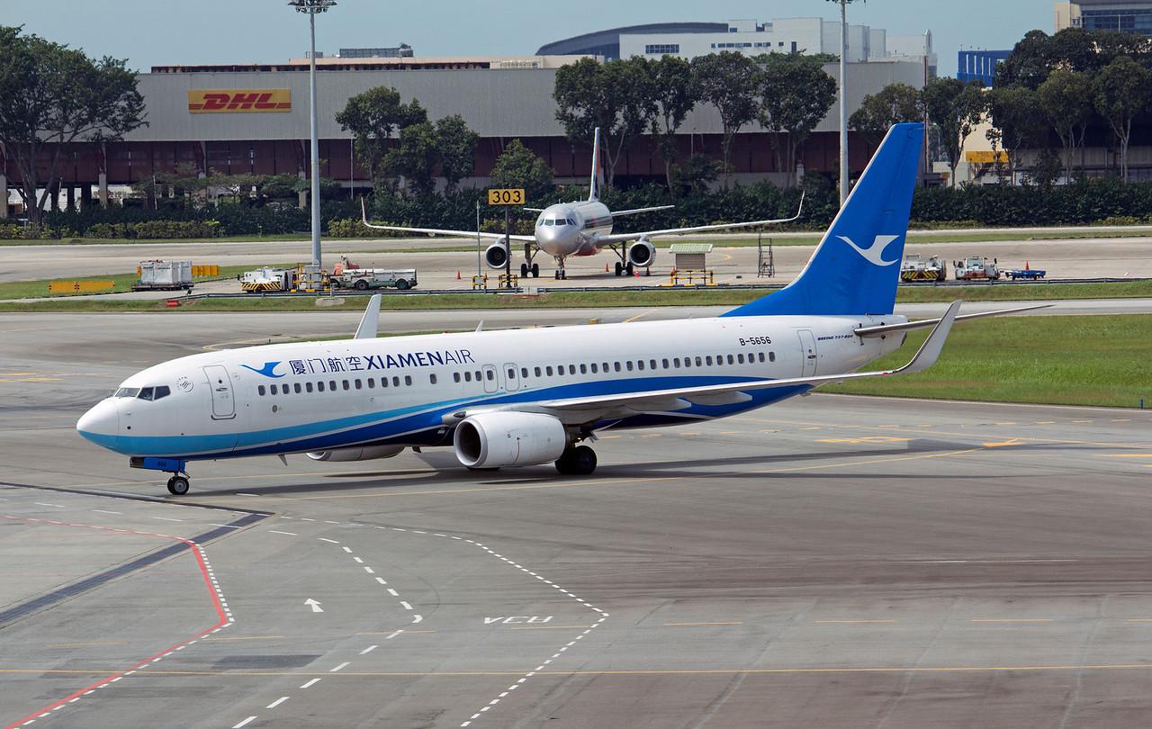 B-5656 XIAMEN AIR B737-800