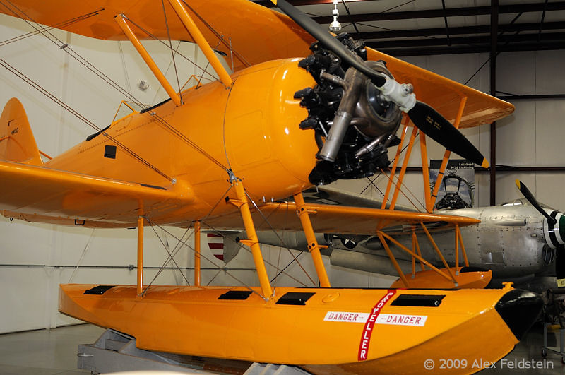 N3N-3 Yellow Peril floatplane<br /> Two Seat Primary Seaplane Trainer<br /> US Navy 1941