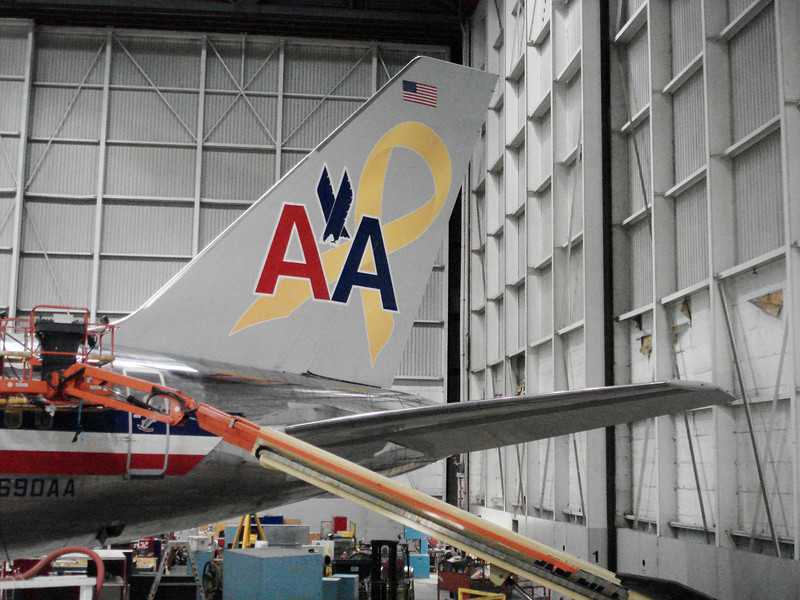 Yellow ribbon and new AA logo. Looks great!