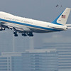 air force one departs SFO