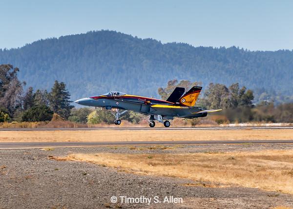 Canadian F-18 Hornet