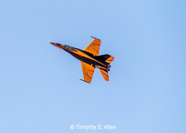 Candian Air Force F-18 Hornet