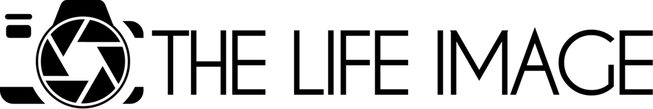 The Life Image - Logo B&W
