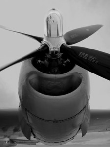 Propeller - Fifi - the last airworthy B-29 Superfortress; 2011