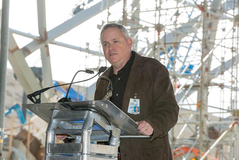 8 Oct 2013: Denver International Airport construction in Denver, CO. Peter Lockley/Rich Clarkson and Associates