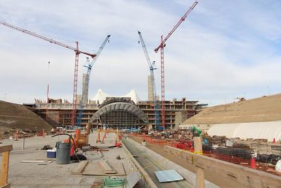 DIA Hotel and Transit Center Construction - Nov 2013