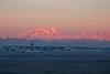 Sunrise over Milan Malpensa Airport