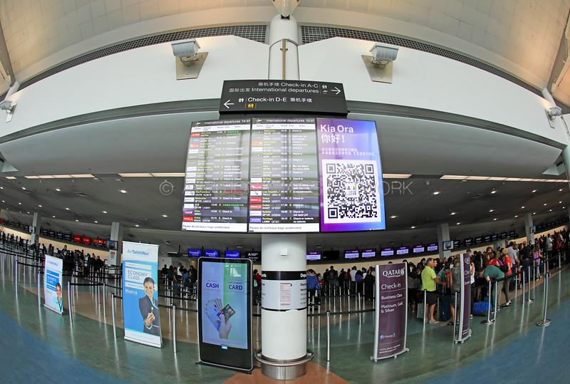 Auckland International Airport Terminal Departures