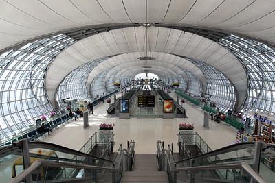 Bangkok Suvarnabhumi International Airport Terminal
