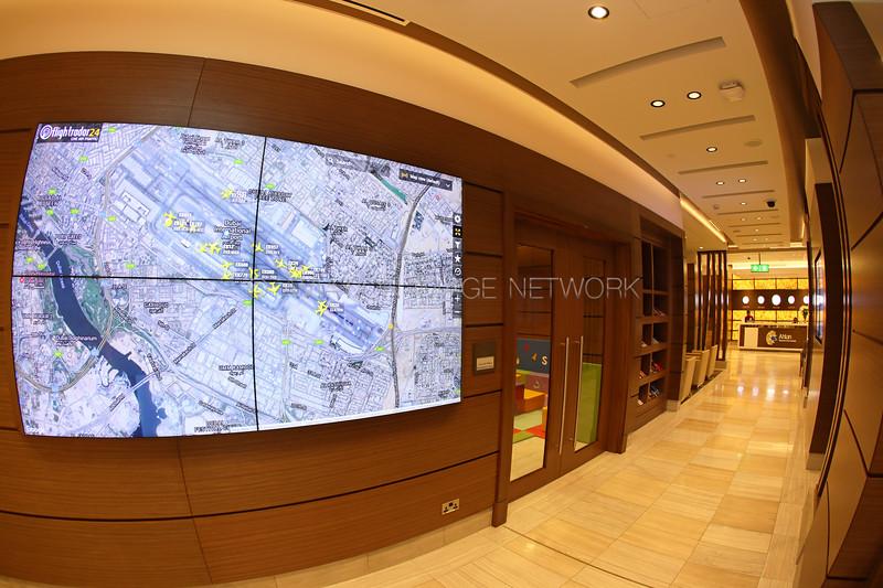 Ahlan Terminal 1 Concourse D Business Class Lounge
